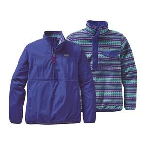 Patagonia Reversible Snap-T Glissade Pullover S
